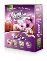 Sypké organominerálne hnojivo Rokosan 1kg na letničky